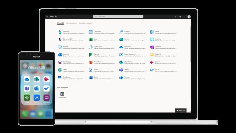 Cegid PMI et outils Microsoft : screen
